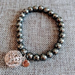Lisa Hoffman bead bracelet with fragrance beads